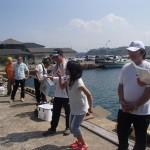 25.福岡支部の釣女・平松会員も実力を発揮し、嬉しい5位入賞。(早良地区)
