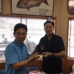 3位吉村さん表彰式