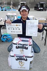 鈴木選手WFG代表決定表彰