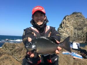 野口さん優勝魚