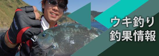 ウキ釣り釣果情報のイメージ