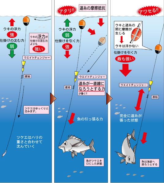 全 誘導 沈め 釣り